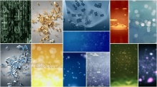 Particle Video Backgrounds