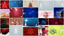Christmas Video Backgrounds